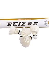 nieuwe Reiz 12st / veel hoge kwaliteit 12st opleiding witte blauwgroen veer badminton shuttles groothandel m7