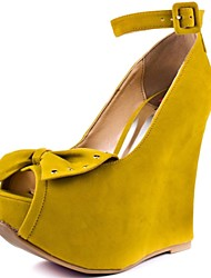 Women's Shoes BC Peep Toe Wedge  Heel Pumps Shoes