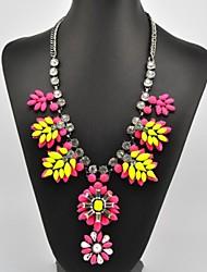 Women's Hot Sale Joint Flower Pattern Necklace