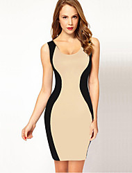 VERYM Women's Sleeveless Sexy Backless Bodycon Dresses