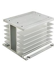 triphasé état solide contact conversion relais radiateur 10-100a Delixi électrique