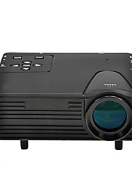 Full HD  Mini VGA (640x480) LCD Image System Multimedia LED Projector with AV/VGA/SD/USB/HDMI Slots(H80)