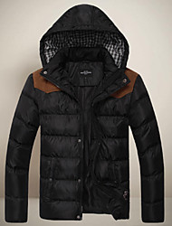Men's Coats & Jackets , Polyester Casual/Work GXXG