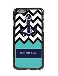 """Personalized Gift Ripple and Anchor Design Metal Case for iPhone 6 (4.7"""")"""