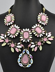 Women's Fashion Flower Pattern Necklace