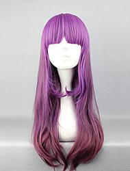 peluca lolita mcoser inspirado en elegante púrpura de la pendiente 60cm princesa