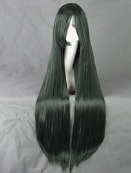 Shizuka Dark Green 100cm Cosplay Wig