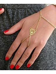 Women's Leopard Head Mittens Bracelets