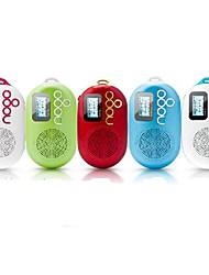 Nogo Q12 Mini Portable FM Radio REC Recording Lyrics Synchronization Audio Card More Speakers
