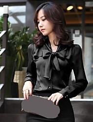 Women's Tops & Blouses , Chiffon Casual RuiHan
