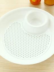 grand plat de fruits de plaque de boulette plastique