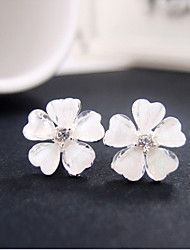 Women's Acrylic Stud Earrings