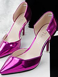 Beauty Girl Women's Vintage Fashion OL Style Pierced Pointed Toe Wedding Shoes