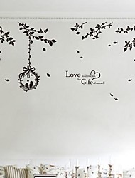 Wall Stickers Wall Decals,  Modern The branches PVC Wall Stickers
