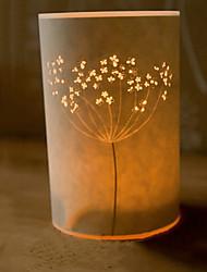 lámpara de pie 1 luz pergamino novedad pantalla 220v