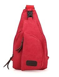 открытый унисекс модное красный холст сумка