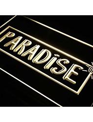 s111 bar tropical plage paradisiaque nouveau décor de signe de lumière