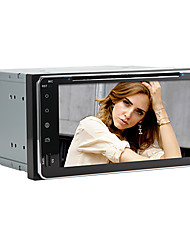 "6.95 ""lettore dvd 2 din per toyota auto universali, gps, supporto dvd, RDS, iPod, atv, SWT, usb / sd, bluetooth, touch screen, 3g"