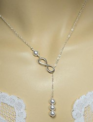 Women's Simple Four Pearl Necklace