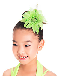 Performance/Dancewear Spandex Flower Headpeice