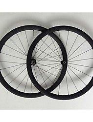 AURORA RACING 700C 38mm Depth Carbon Tubular Wheelset 20.5mm Wide Carbon Road Bike Wheels