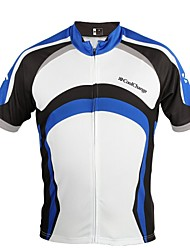 Men's Cycling Tops Short Sleeve Bike Spring / Summer Waterproof / Breathable / Quick Dry / Dust Proof / Wearable BlueM / L / XL / XXL /