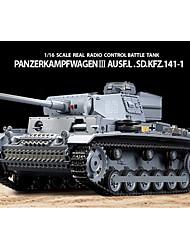 Heng Long 1/16 PanzerKampfwagen III SdKfz RC BattleTank