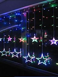 Pisca-Pisca LED 8 luzes estrela forma de resina 220v 3m