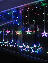 LED String 8 luci a forma di stella in resina 220v 3m