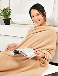 scarce®comforter mode doux séjour simple épaississement chaud molleton couverture antistatique