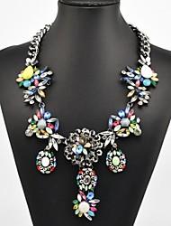 collana di cristallo della gemma delle donne