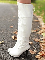Women's Shoes Round Toe Cone Heel Heel Knee High Boots More Colors available