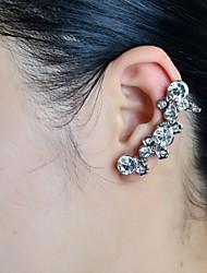 piedra de la moda conjunto del manguito del oído