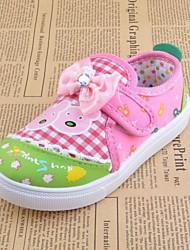 Sneakers de diseño ( Rosado/Púrpura ) - Dedo redondo - Tejido