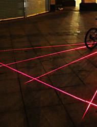 Luces para bicicleta , Tail Lights / luces de extremo de barra / Luces para bicicleta - 4 o Más Modo Lumens alarma / multi-herramienta