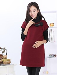 Maternity's Knit Sleeveless Dress