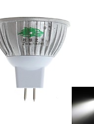 Zweihnde 3W 3 Dip LED 280-300 LM Natural White MR16 Decorative LED Spotlight DC 12 V