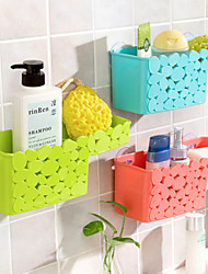 Candy Color Cobblestone Pattern Storage Rack(Random Color)