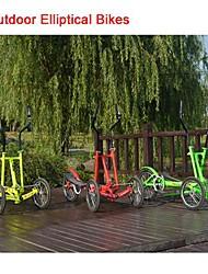 """elliptischen angetriebene Fahrrad oj ™-Gang Shimano Kettenschaltung 8. Innen-und Außen 3 Rädern 16 """"vor&18 """"hinten"""