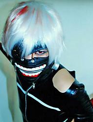 Inspirado por Tokyo Ghoul Fantasias anime Cosplay Costumes Máscara Preto Máscara