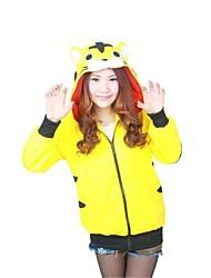 Lovely Tiger Yellow Polar Fleece Kigurumi Hoodie