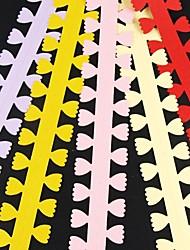 5pcs três centímetros x 51 centímetros pétala de papel em forma de pétala de flor quilling definir criativo origami diy papel de enrolar
