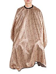 moda moderna leopardo de ouro corte de cabelo capa (1pc)