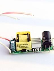 7-9x1w внутренний вход AC85 водитель водить ~ 277V для прожектора мощности света питания