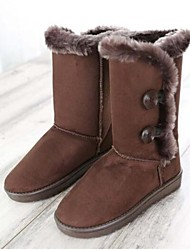 Women's Shoes Snow Boots Flat Heel Mid-Calf Boots More Colors available