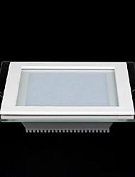 18w cuadrado máscara de cristal llevó el panel ligero SMD 5730 de mini lámpara de la cocina llevó las luces del techo ac85-265v
