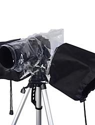 tamaño medio de la cámara réflex digital de cubierta para la lluvia - negro