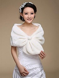 Fur Wraps Faux Fur Warm Wedding Shawls