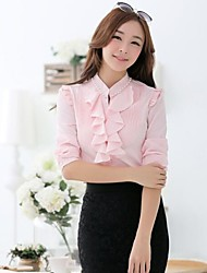 Women's Shirt Collar Chiffon Shirts
