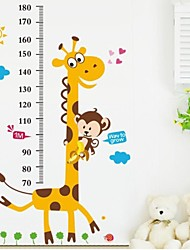 Wall Stickers Wall Decals, Kidsroom Height Ruler Home Decor Mural PVC Wall Stickers